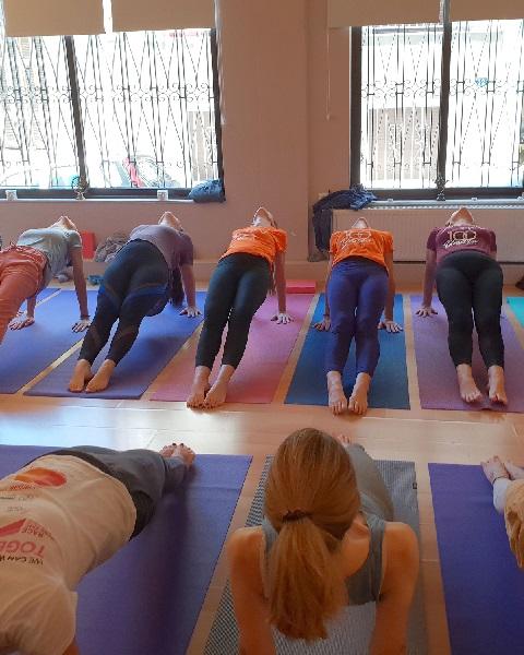Shakti yoga studio Athens Greece movements asanas