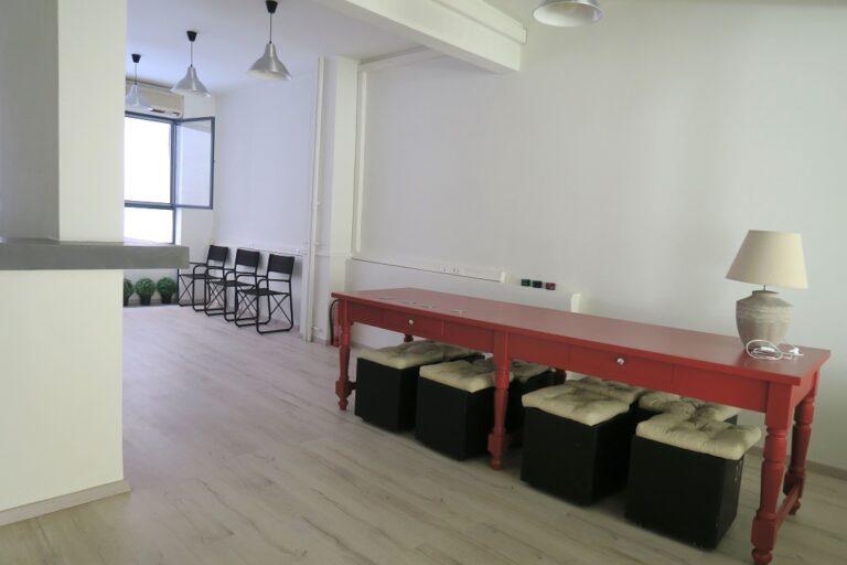 shakti yoga studio waiting room
